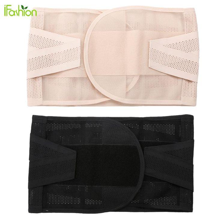 Adjustable Waist Trimmer Belt Abdominal Slimming Wrap Belly Band Shapewear Corset Girdle Waist Brace Support for Men Women