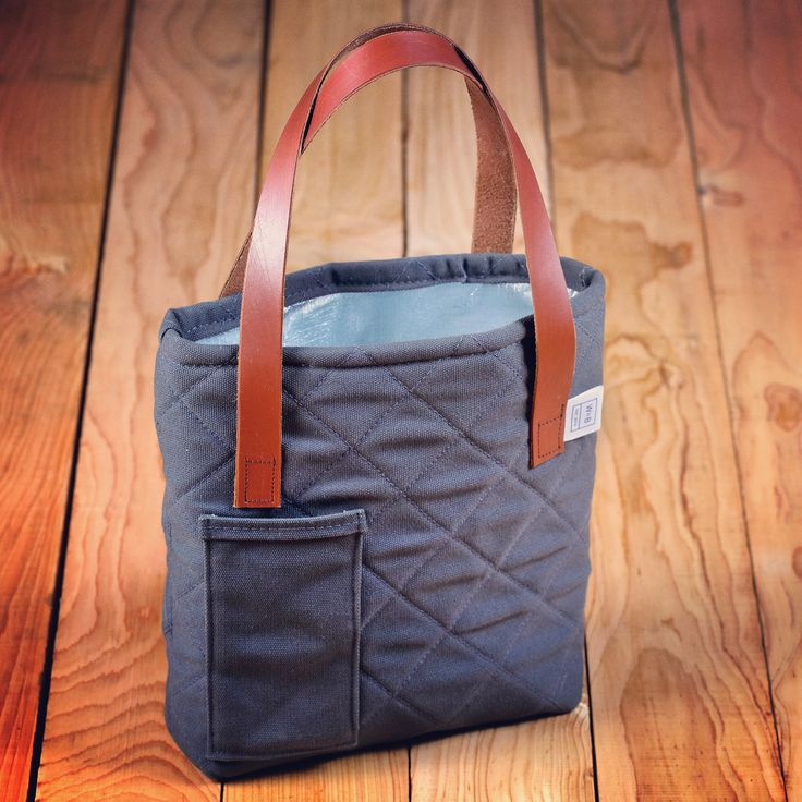 Made To Order Canvas Wine Carrier - W & B