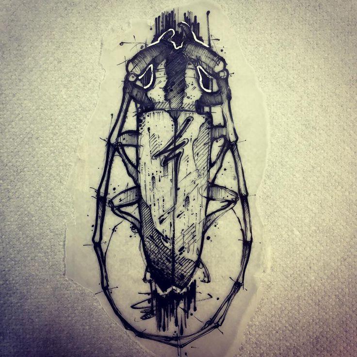 Available Flaaaash !! 💕#ink #inked #tattoo #tattoos #tattooed #tattrx #btattooing #blackwork #dot #draw #drawing #equilattera #blackandwhite #blackworkers #iblackwork #dotwork #blxckink #sketch  #vsco #vscocam #darkartists #black #illustration #art #graphic #artoftheday #blackworkerssubmission #beatle #trash