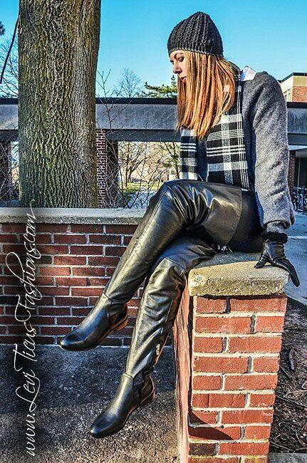 teens crotch high boots