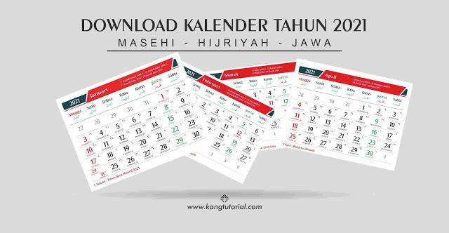 Download Kalender 2021 Gratis Format CDR, PDF, PSD dan PNG ...