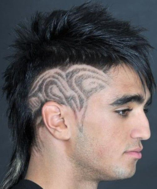 Mohawk with Sides Patterns