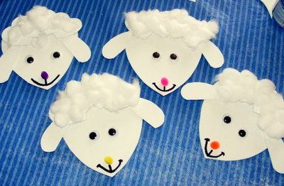 Includes the cute sheep pictured plus lots of other cute farm animal ideas