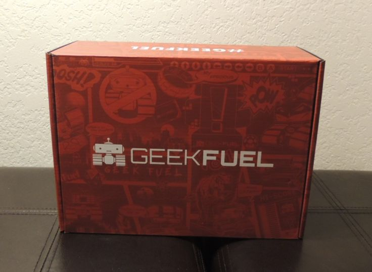Geek Fuels Monthly Mystery Box: September 2017 review  Geeky Goodness