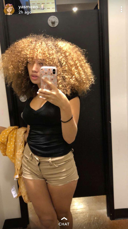 Yasmeen Nicole In 2019 Natural Hair Styles Curly Hair