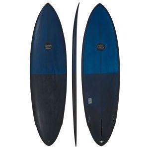 Maluku Surfboards - Maluku Satu Single Fin Surfboard - Turquoise/blue
