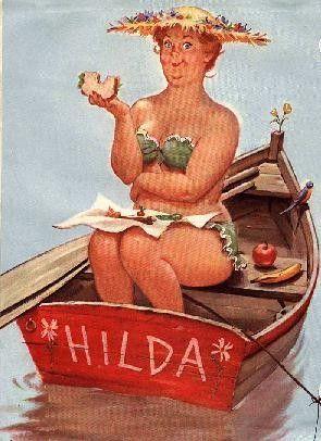 Love Hilda! Duane Bryers .