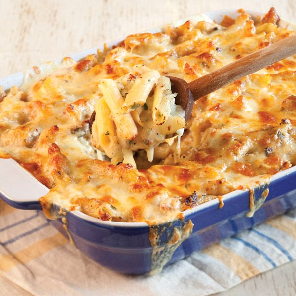Lots of cheese and thick-cut bacon make this dish the Ultimate Southern Mac and Cheese.