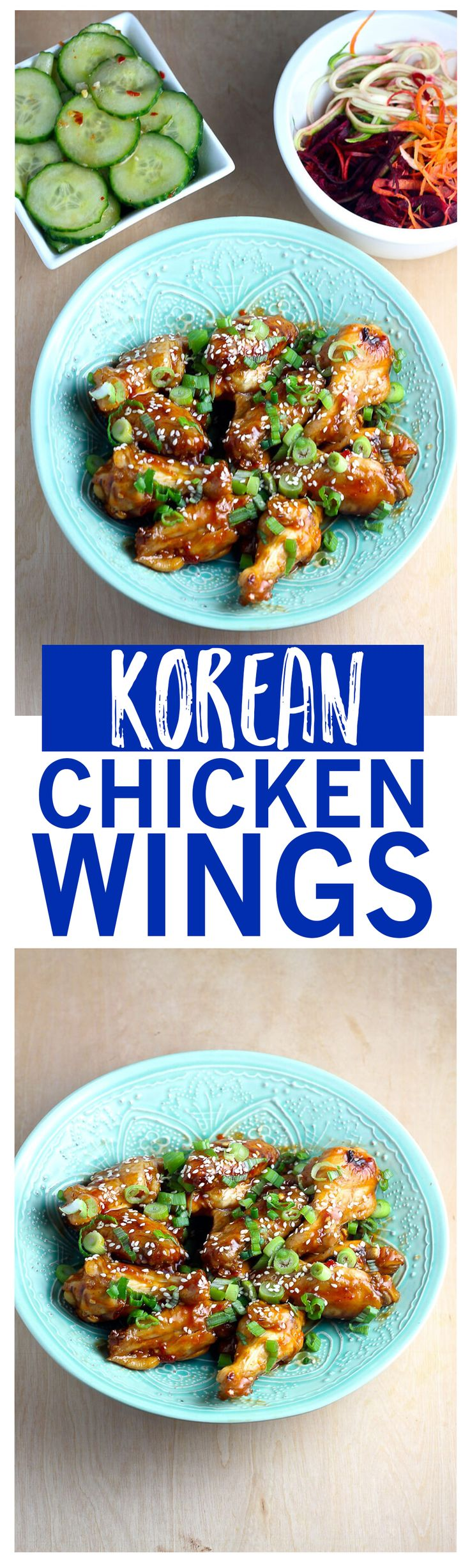 These sesame-flavoured Korean Chicken Wings are a delicious, healthier way to enjoy your fave pub grub for dinner!