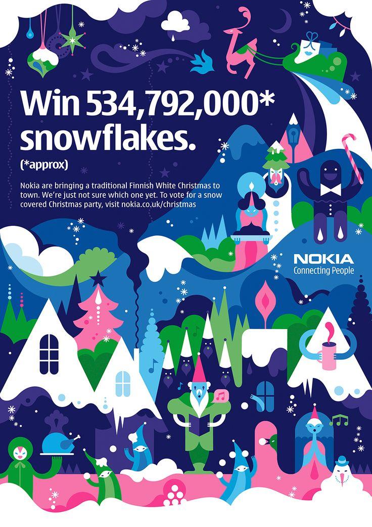 Nokia Christmas by Janine Rewell — Agent Pekka