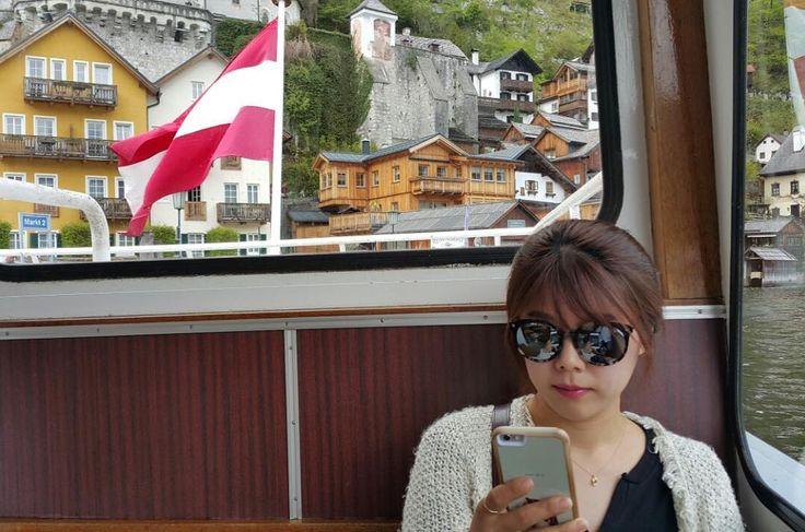 #오스트리아#오스트리아여행#할슈타트#austria#travel#hallstatt#남편이 찍어준 인생샷! 할슈타트 풍경과 오스트리아 국기까지 깨알포착!남편 칭찬해���� http://tipsrazzi.com/ipost/1507782694004037135/?code=BTsuF8il5YP