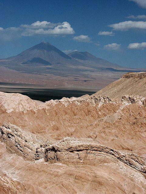 luna valley  en el Norte de Chile