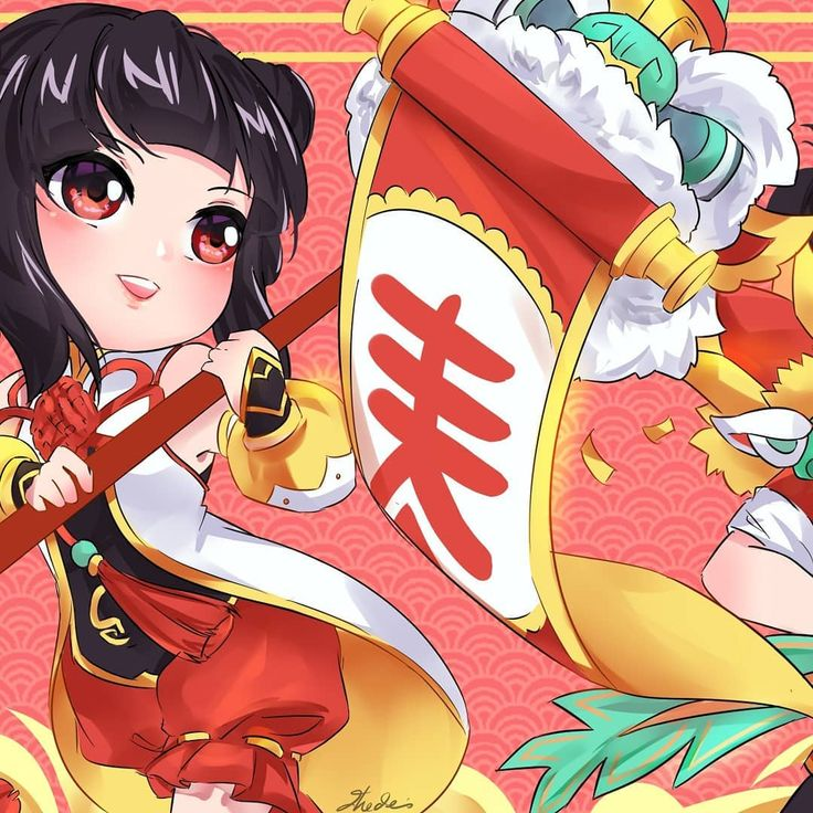 Pin de Amy Tran em Chinese New Year Moba legends, Ideias