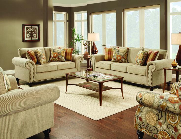 Fusion Living Room Out West Linen Sofa 043792   Furniture Fair   Cincinnati  U0026 Dayton OH Part 61