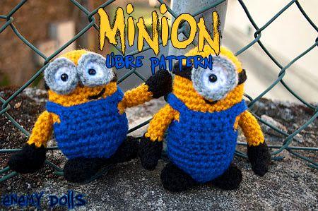 Amigurumi Minion Malo : 60 best images about Amigurumis: minions y amigos on ...