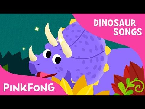 Triceratops | Dinosaur Songs | Pinkfong Songs for Children - YouTube