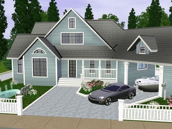 43 best sims 3 house images on pinterest | family homes, family