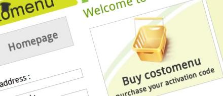 Costomenu e-shop @ shop.costomenu.com for the application purchases and its upgrades