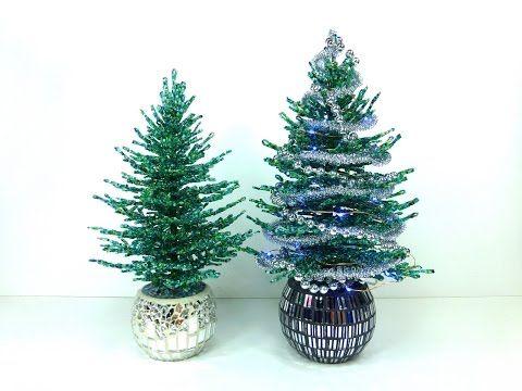 Голубая ель. Урок 5 - Посадка и декорирование / Blue spruce. Lesson 5 - planting and decoration - YouTube