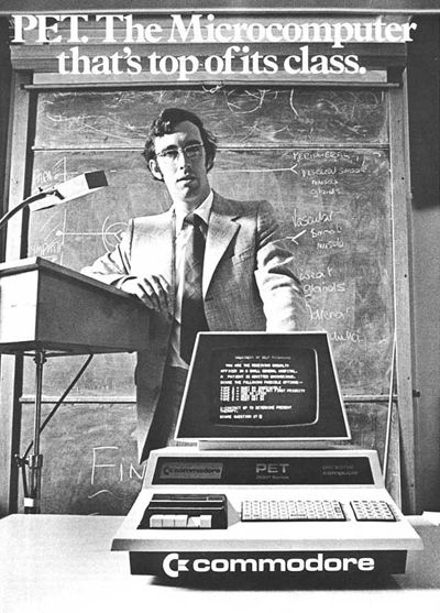 Commodore PET (Personal Electronic Transactor) 1977
