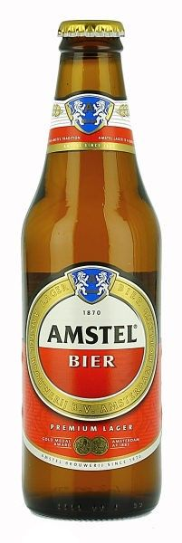 Amstel Bier - Netherlands (Originally from Córdoba, Spain. Aguila beer)