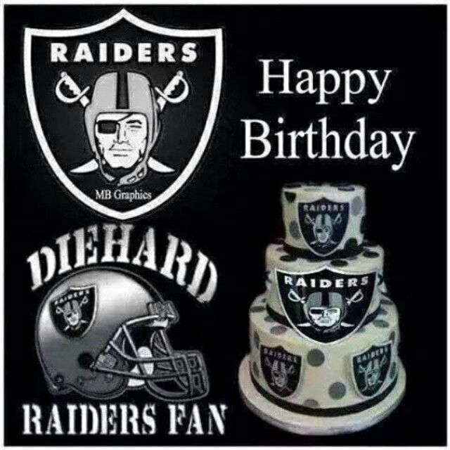 Raiders happy birthday