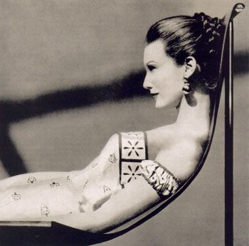 Mary Jane Russell for Vogue, 1954