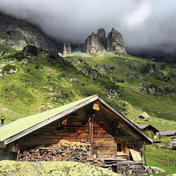 """david birri / switzerland on Instagram: """"#wendenalp #wendenstöcke #alp #mountains #haslital #gadmental #hut #mountainworld #landscape #visitswitzerland #clouds #schweiz #berneroberland #swissalps #switzerland_vacations #instagood #instadaily #igers #ig_europe"""""""