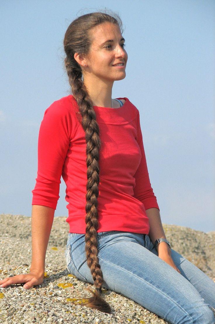 Marianne Pelos Largos Pinterest Braids For Long Hair