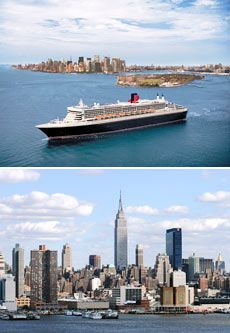 £1099 -- Luxury Transatlantic Cruise w/NYC & Niagara Stays
