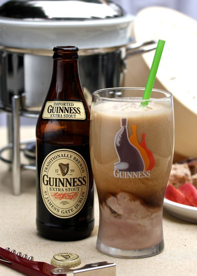 {Guinness Float} Ireland's most renowned beer,  is known for it's contrasting smooth and bitter qualities. It's rich, dark and bitey–just the right flavor to accompany silky chocolate ice cream. *I am signing off for the night with this recipe! What do you think?!!? Crazy? Or crazy cool? Have a wonderful weekend everyone.