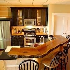 wooden bar top design