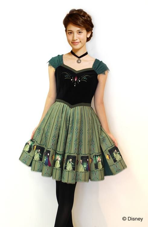 """Secret Honey x Disney Collection x Frozen series ~ Ana OP"" http://ameblo.jp/secrethoneybyhoneybunch/entry-11940186283.html"