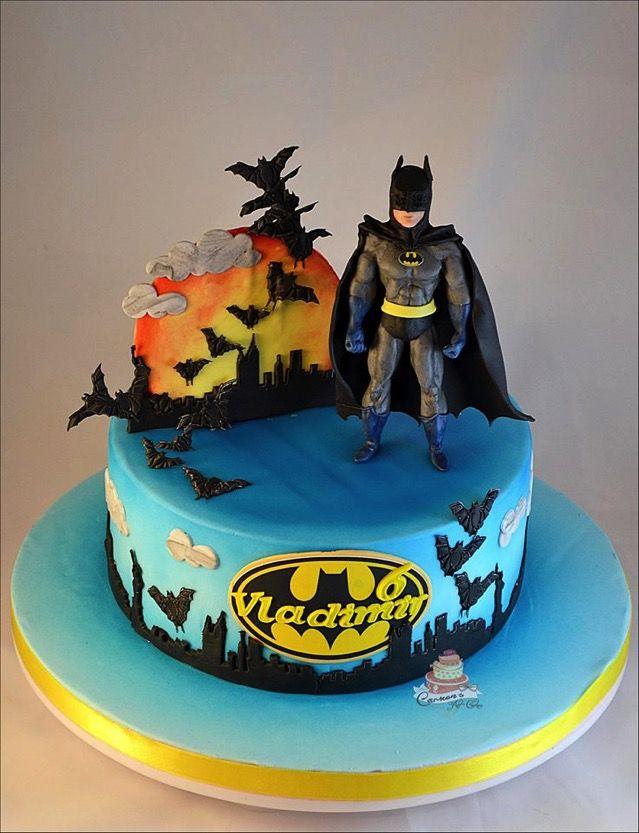 Superb Batman 6th Birthday Cake Cake Disney Superhero