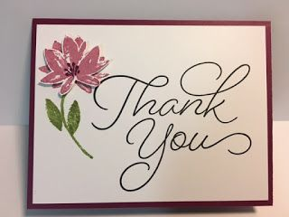 My Creative Corner!: So Very Much, Avant-Garden, Thank You Card, 2017 Sale a Bration, Stampin' Up!, Rubber Stamping, Handmade Cards