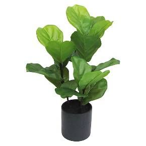 I don't have a green thumb so this could be a good buy...  Artificial Fiddle Leaf Fig Plant