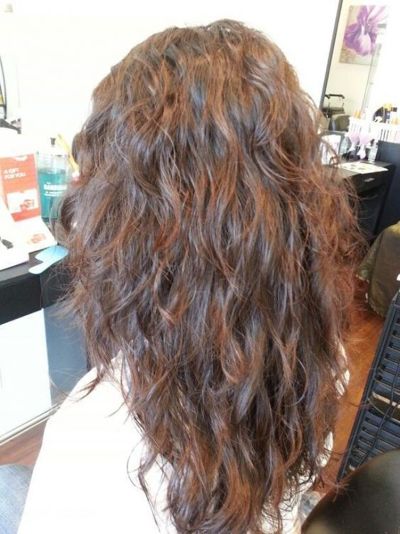 pictures of haircuts for 40 year best 25 permed medium hair ideas on wavy 6187