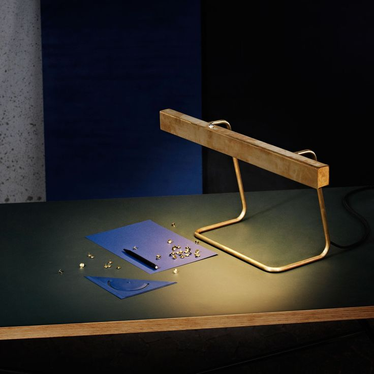 Anour Brass T Model  Desk Lamp | Anour_T_pendant | £820.00