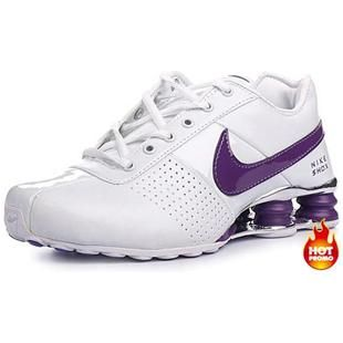 Nike Shox Purple And White