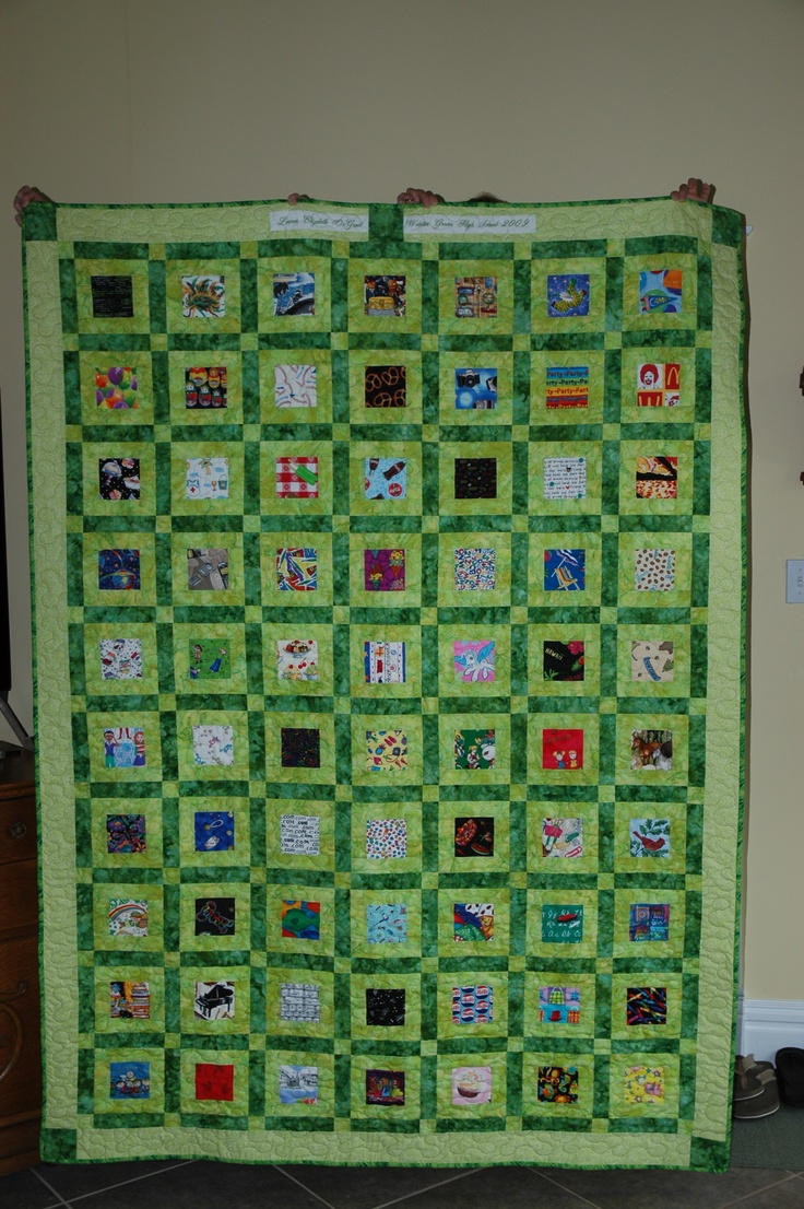 high school graduation quiltGraduation Gift, Madyson Graduation, High Schools Graduation, High School Graduation, Graduation Quilt, Graduation Ideas, Graduation Parties