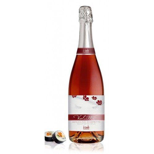 Le Tende Wein - Voluttá Spumante Brut, Bardolino chiaretto doc