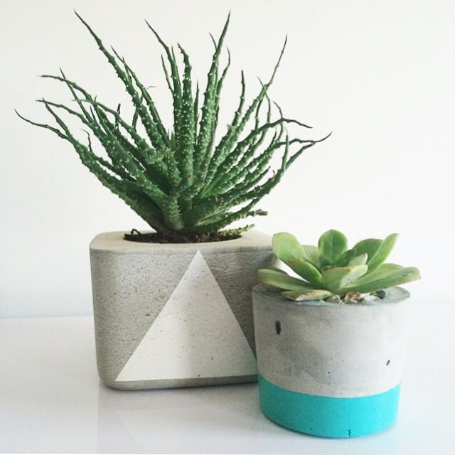 www.nothingbutvintage.com.au Urban Decor concrete planters, Tealights, stools & bowls available now.