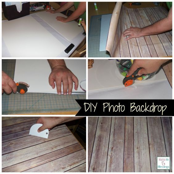 Diy photography backdrop super easy to make for a fraction of the cost vs