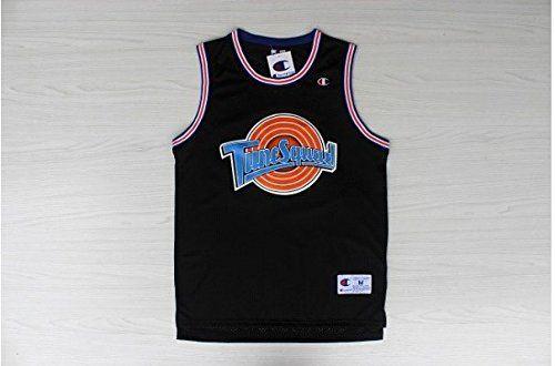Space Jam #! TAZ Basketball Jersey Tune Squad Looney Toones Basketball Jerseys Black (Black, Medium) - http://basketballjerseys.nationalsales.com/space-jam-taz-basketball-jersey-tune-squad-looney-toones-basketball-jerseys-black-black-medium/