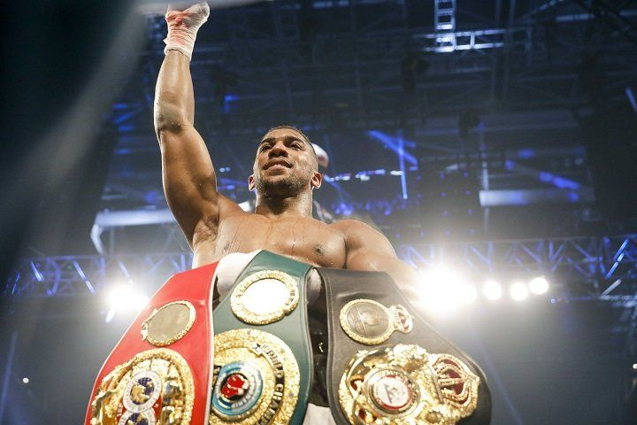 Hearn says Anthony Joshua vs. Jarrell Miller in New York in summer a possibility #AnthonyJoshua #JosephParker #allthebelts #boxing