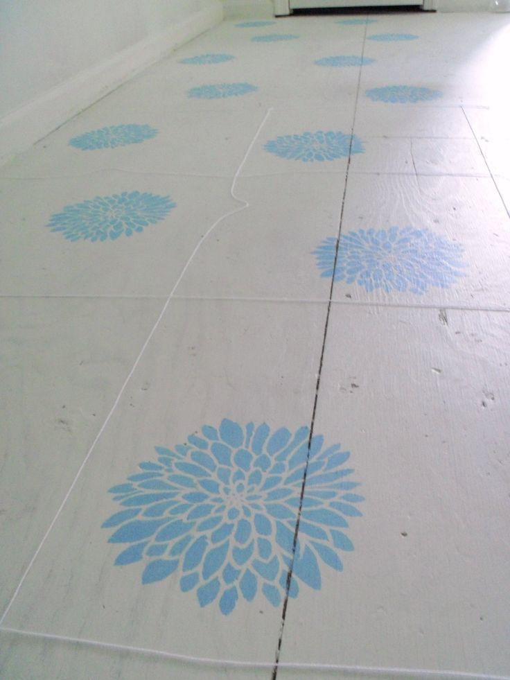 271 best Painted Floors images on Pinterest Painted floors Home