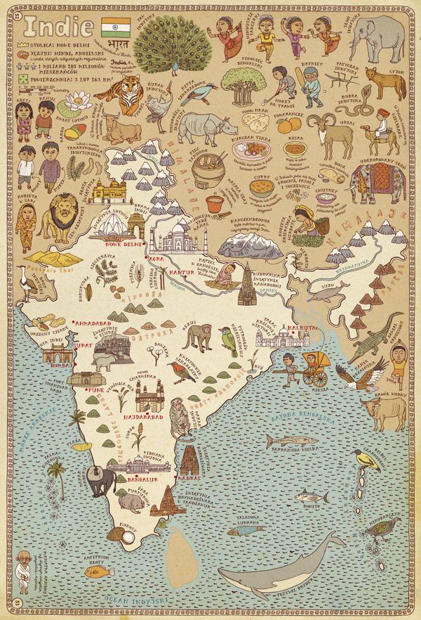 Illustration Inspiration, more at: http://graphictide.com/blog/illustration-inspiration-9/ #maps