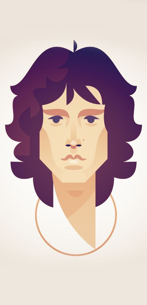Jim Morrison by Stanley Chow