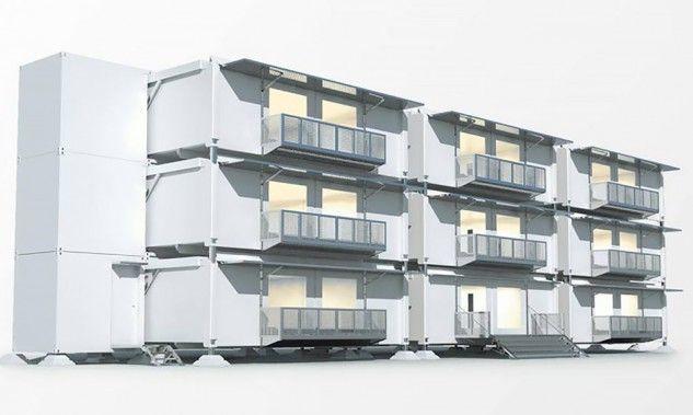 Existen unas casas sustentables, desplegables y móviles que podría reemplazar a las que conocemos hoy en día.