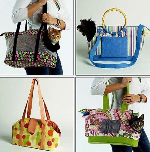 Free Crochet Pattern Dog Carrier : PET CARRIER Sewing Pattern - Dog Carriers Dogs Tote Bag ...